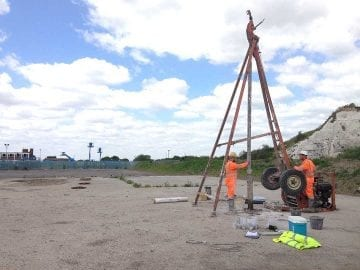 Geotechnical Site Investigations and Engineering Parameters for Geotechnical Design Analyses